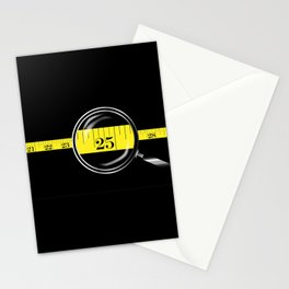 Tape Measure Border Stationery Cards