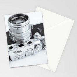 1950s Nicca 3-S 35mm Film Camera in Black & White Stationery Cards
