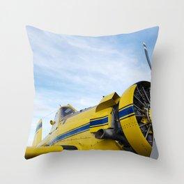 plane 1. Throw Pillow