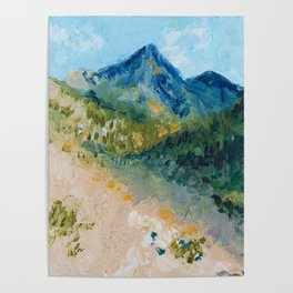 Mountain Landscape Poster