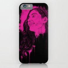 Black Pink Pop Slim Case iPhone 6s