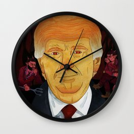 Posession Wall Clock