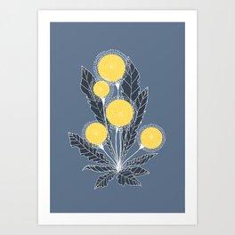Dandelion by Olga Yurlova Art Print