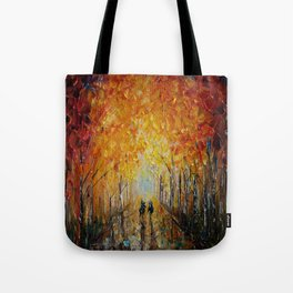 Horseback Riding in the East Coast Forest Tote Bag