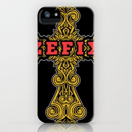 Zefix Kreuz Oktoberfest Grantler Tracht iPhone Case