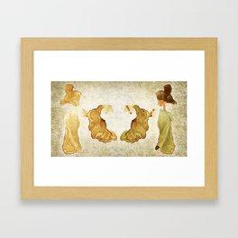 Fantasma stain Framed Art Print