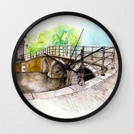 Prinsengracht Amsterdam canal Wall Clock