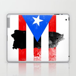 Puerto Rico + Flag Laptop & iPad Skin
