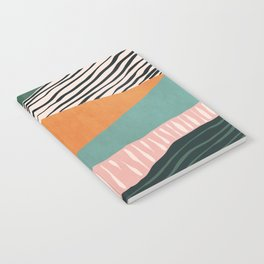 Modern irregular Stripes 02 Notebook