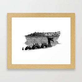 Ogopogo Shirt Framed Art Print