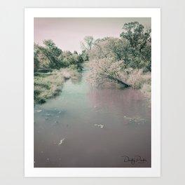 Blushing All Over Art Print