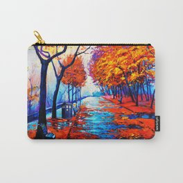 Tardis Art Tree Blossom Carry-All Pouch