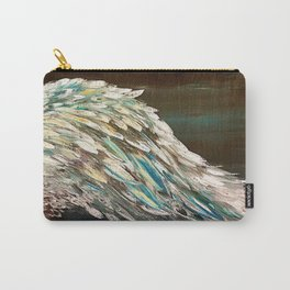 Rustic Vintage Angel Wing Carry-All Pouch