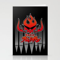gurren lagann Stationery Cards featuring gurren lagann by tama-durden