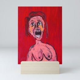 The Scream Mini Art Print