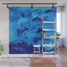 Dolphins Frolicking in the Ocean Wall Mural