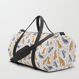 Cheetah Duffle Bag