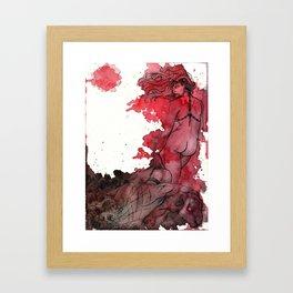 Demoness Framed Art Print