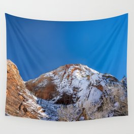 Zion Winter - 4536 Big_Bend_Viewpoint Wall Tapestry