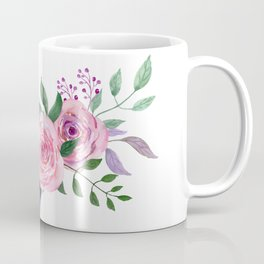 Posy YELLOW AND RED Painted - bouquet, nosegay, flower Coffee Mug