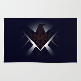 Hidden HYDRA – S.H.I.E.L.D. Logo Sans Wording Rug