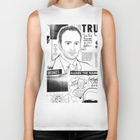 scandal Biker Tanks featuring Tom Ford Scandal by CLSNYC