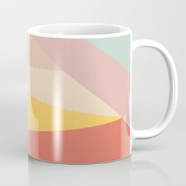 Retro Abstract Geometric Coffee Mug
