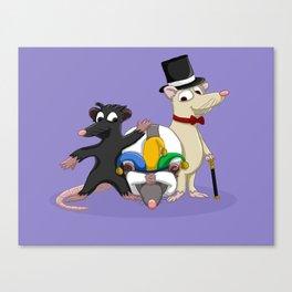The Troublesome Trio Canvas Print