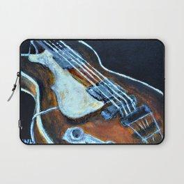 ~orignal Rachael Chatoor acrylic - bass on black~ Laptop Sleeve