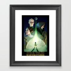 The Last Stand of Alderaan Framed Art Print