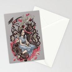 Diamond eyes Stationery Cards