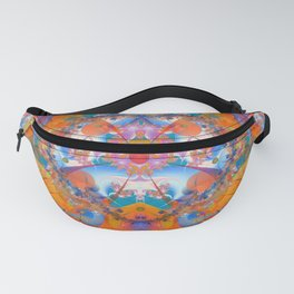 Rainbow Bridge Psychedelic Abstract Fanny Pack