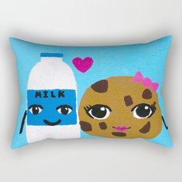 Milk and Cookies Rectangular Pillow