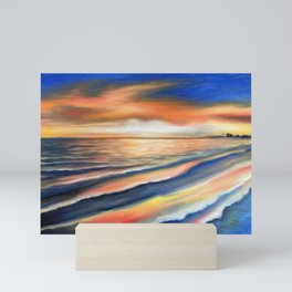 Sunset Fort Myers Beach Mini Art Print