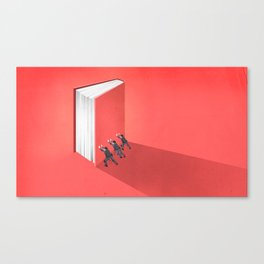 BANNED BOOKS Canvas Print
