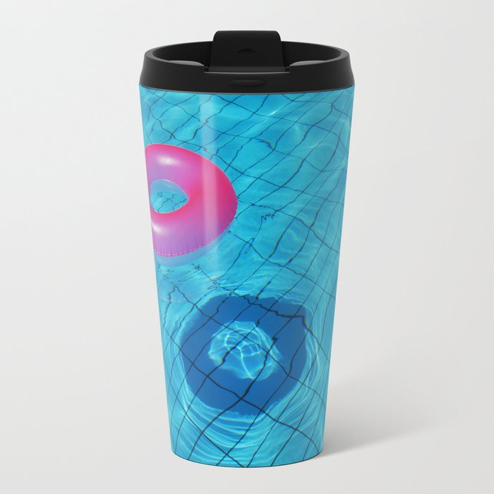 Pool Travel Mug