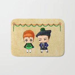 Irish Chibis Bath Mat