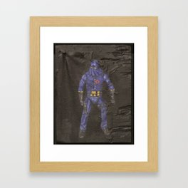 Heavy is the head Framed Art Print
