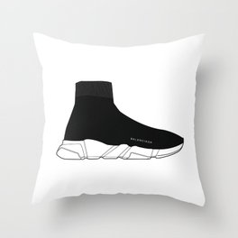 Speed Trainer Throw Pillow