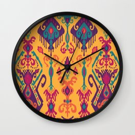 Cloud Tie Sunshine Wall Clock
