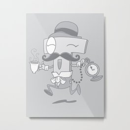 It's T time! Metal Print