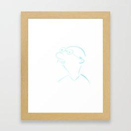Mister Framed Art Print