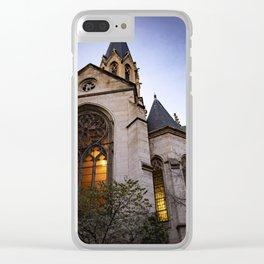Église Saint Georges in Lyon, France Clear iPhone Case