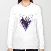 ruben Long Sleeve T-shirts featuring Heart Of Glass - Kris Tate x Ruben Ireland by Ruben Ireland