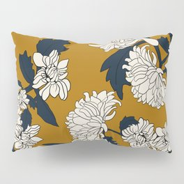 Orange paeony Pillow Sham