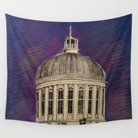 montreal Wall Tapestries featuring Montreal by Shazia Ahmad