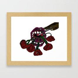 Get to a Dentist  Framed Art Print