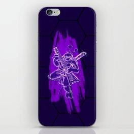 TMNT Rock: Don iPhone Skin