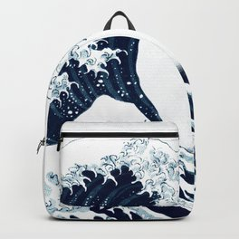 The Great Wave - Halftone Backpack