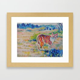 Orange (*Koinonia*) Framed Art Print
